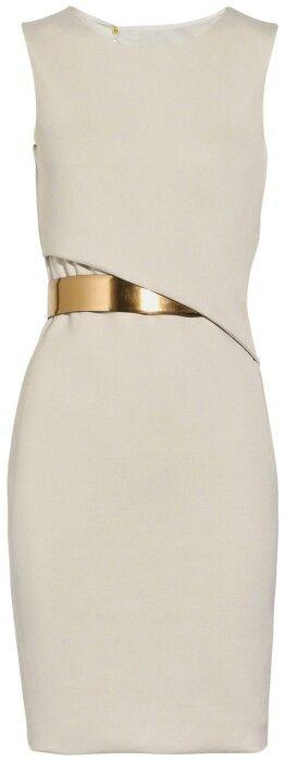 Gucci. White. Gold. Elegant. Wow.