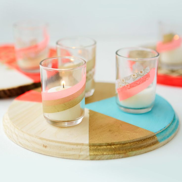 Get your DIY on with these fun tabletop ideas!  http://www.stylemepretty.com/2016/07/11/diy-your-wedding-like-a-pro-a-live-event-with-creativebug/ #sponsored