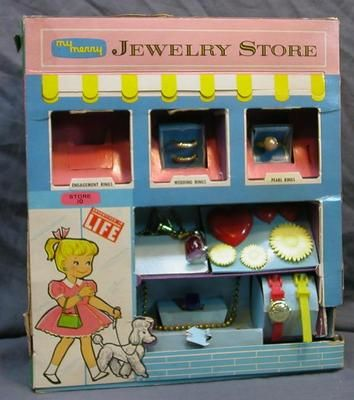 VINTAGE 1960's MY MERRY JEWELRY STORE