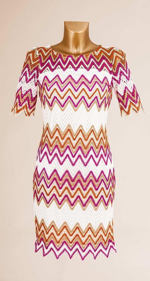 Wavy short dress