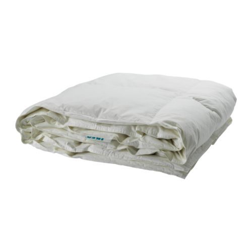 MYSA RÖNN Comforter, warmth rate 4 IKEA A warm feather comforter for those who are neither too warm nor too cold at night.