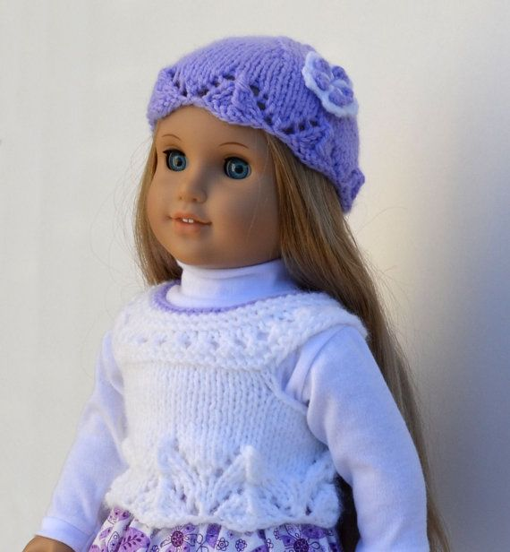 #DollClothes #americangirldoll #18inchdoll #AGDollSweater #dollsweater #knitteddollsweater #AGdollset #giftforkids #christmasgift #dollhat #AGdollhat
