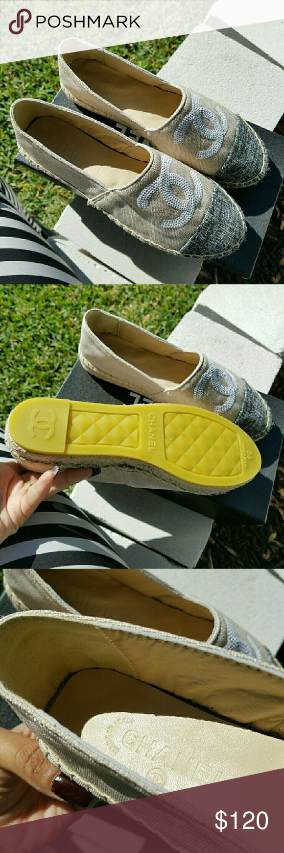 Chanel Espadrilles Brand new PRICE REFLECTS AUTHENTICITY CHANEL Shoes