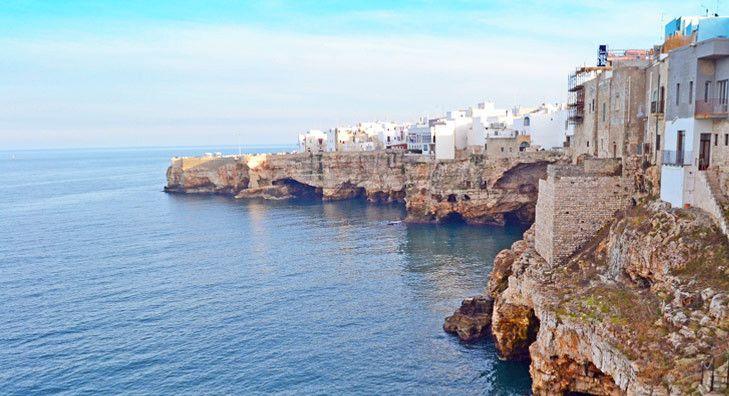 Top 5 beaches of Puglia with Blue Flag status Polignano Italy