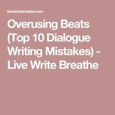 how to write dialogue short story