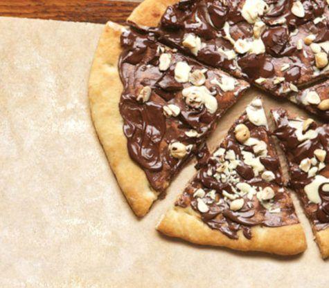 Λαχταριστή πίτσα σοκολάτας από την Άντα