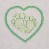 I found this Embroidery Design for only: $4.00 on aStitchaHalf.com! My Newborn is an adorable design of those cute little baby feet. Decorate their tiny clothes and accessories with these designs.You Receive:2 x Designs (Embroidery Fill and Applique)Stitch Count:5159 and 6135