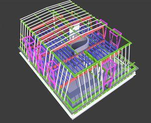 Maîtrise d'Ouvrage: Privée Mission conception Surface plancher créée: 90 m² Coût prévisionnel des Travaux: 350 000 € HT Etude 2013/2014