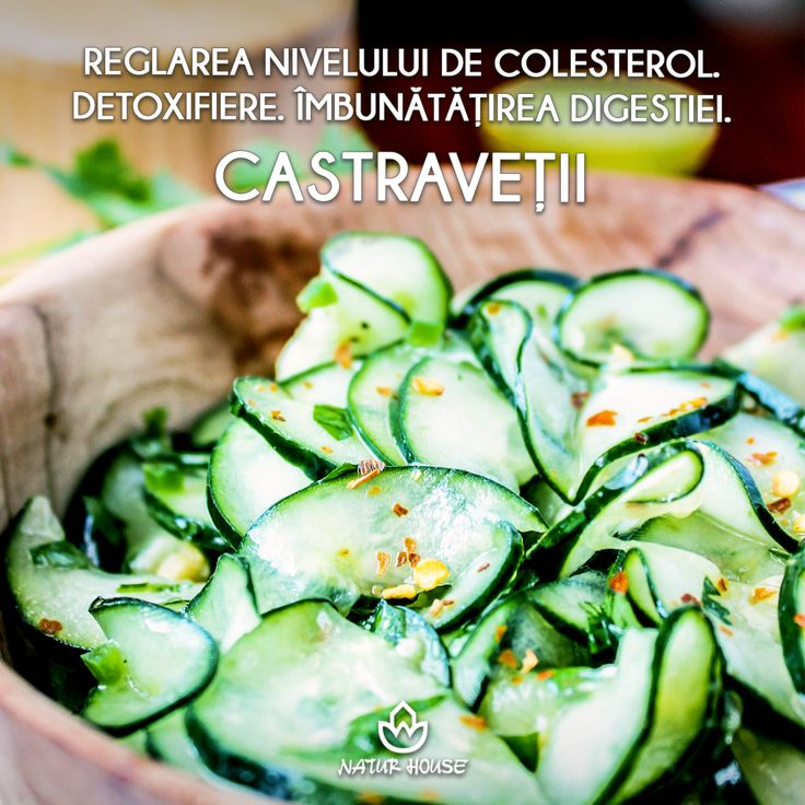 Cu un conținut mare de apă (peste 90%) și cu foarte puține calorii, castraveții nu ar trebui să lipsească din salate în această perioadă. Castraveții conțin fibre, contribuie la detoxifierea organismului, îmbunătățesc digestia și ajută la reglarea nivelului de colesterol. #sănătate #nutriție #castraveți #legume #dietă