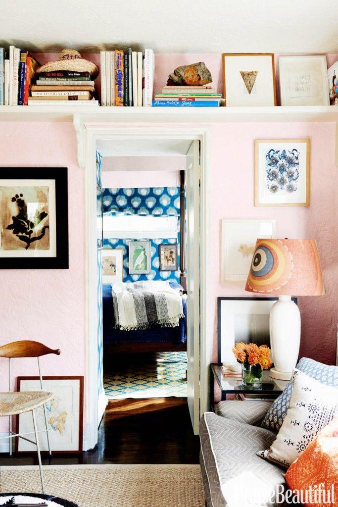 Tour a Designer's Tiny Yet Exuberant LA Apartment