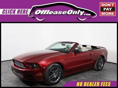 eBay: 2014 Ford Mustang V6 Premium Convertible RWD Off Lease Only Ruby Red Metallic Tinted Clearcoat 2014 FordMustangV6… #fordmustang #ford
