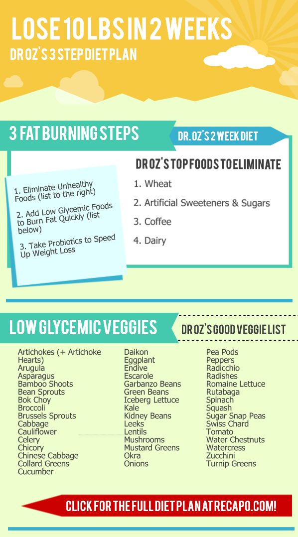 Dr Oz 2-Week Diet: List of Low Glycemic Vegetables + Low Sodium Broth -  June 14, 2014 from Recapo