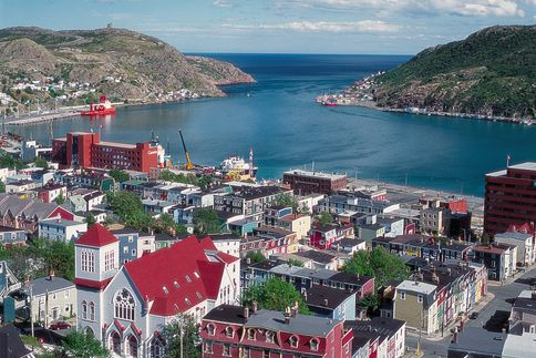 newfoundland & labrador cities photo | Newfoundland and Labrador  www.RadiantFitAndHappy.com