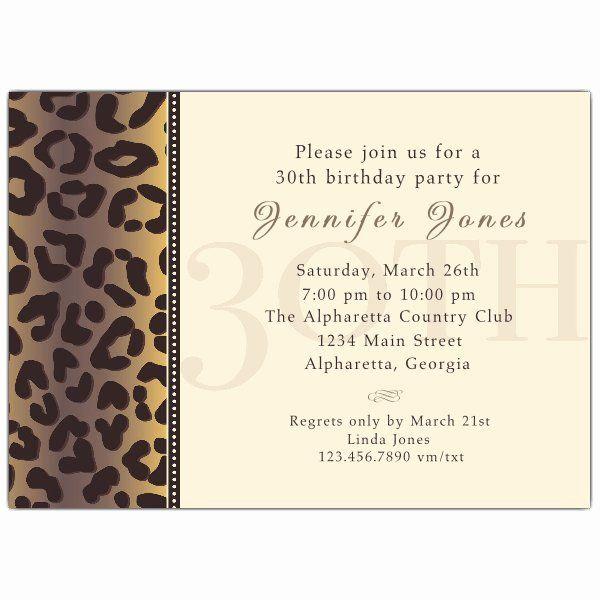 30th birthday party invitation wording