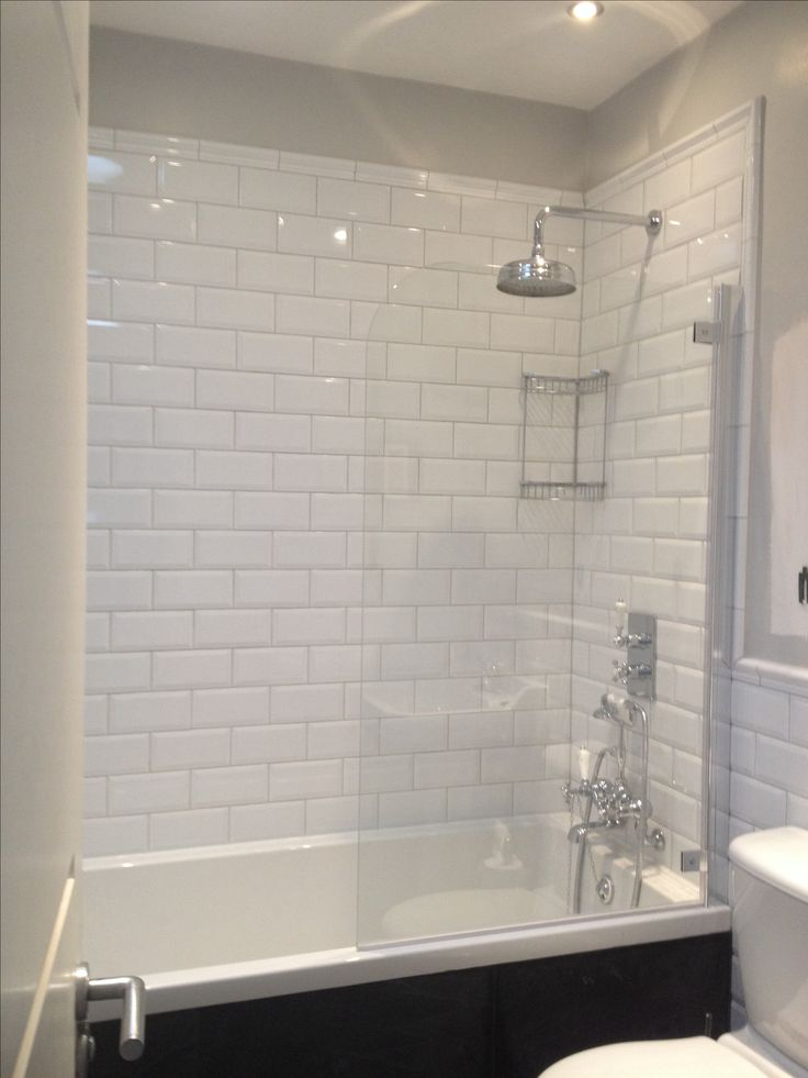 Viola Subway Tiles With Dado Border Bathrooms