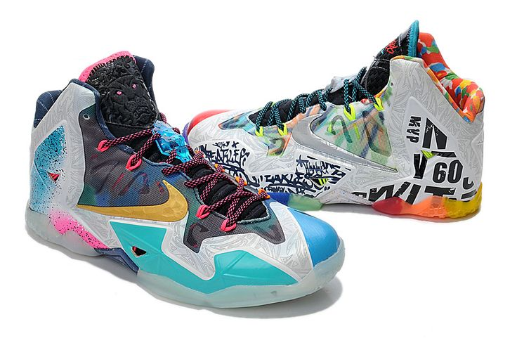 Authentic Nike LeBron 11 What The Lebron Wholesale...if only they had my size.