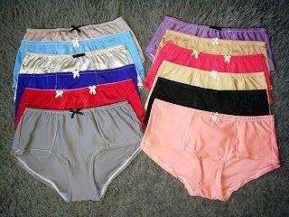 Funpanty : Panty cut label Amitie nylon spandex Paket 12pcs (...