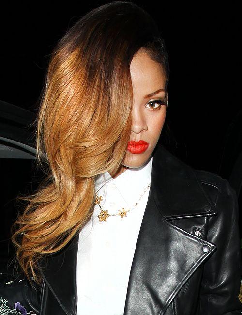 Rihanna Ombré Hair