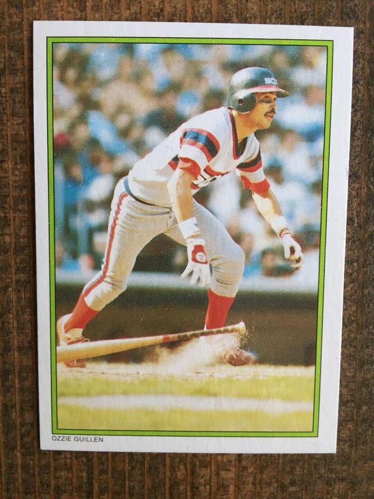 1986 topps all star set 58 ozzie guillen rookie card