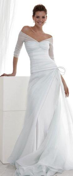 Off the shoulder #wedding #dress, le spose di Gio?
