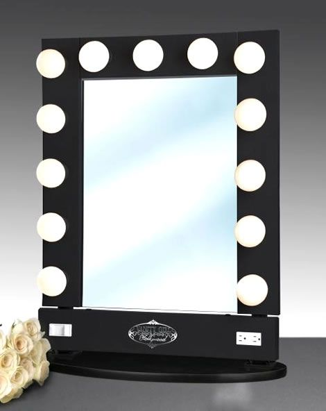 makeup mirrors with lights light up makeup mirror makeup lighting. Black Bedroom Furniture Sets. Home Design Ideas