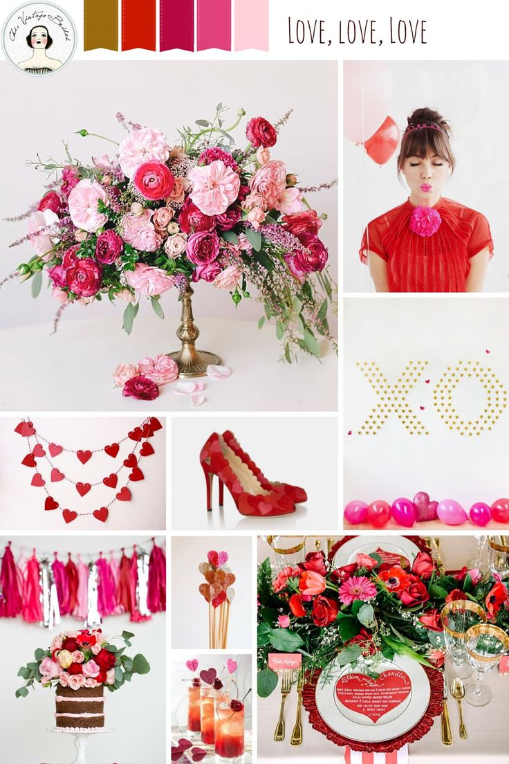 Love, Love, Love – Valentines Day Inspiration
