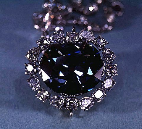 The gorgeous blue Hope Diamond is the center of many dark legends and unfortunate stories. Learn of its owners' bad luck and decide if you believe the curse. | BMJ Blog