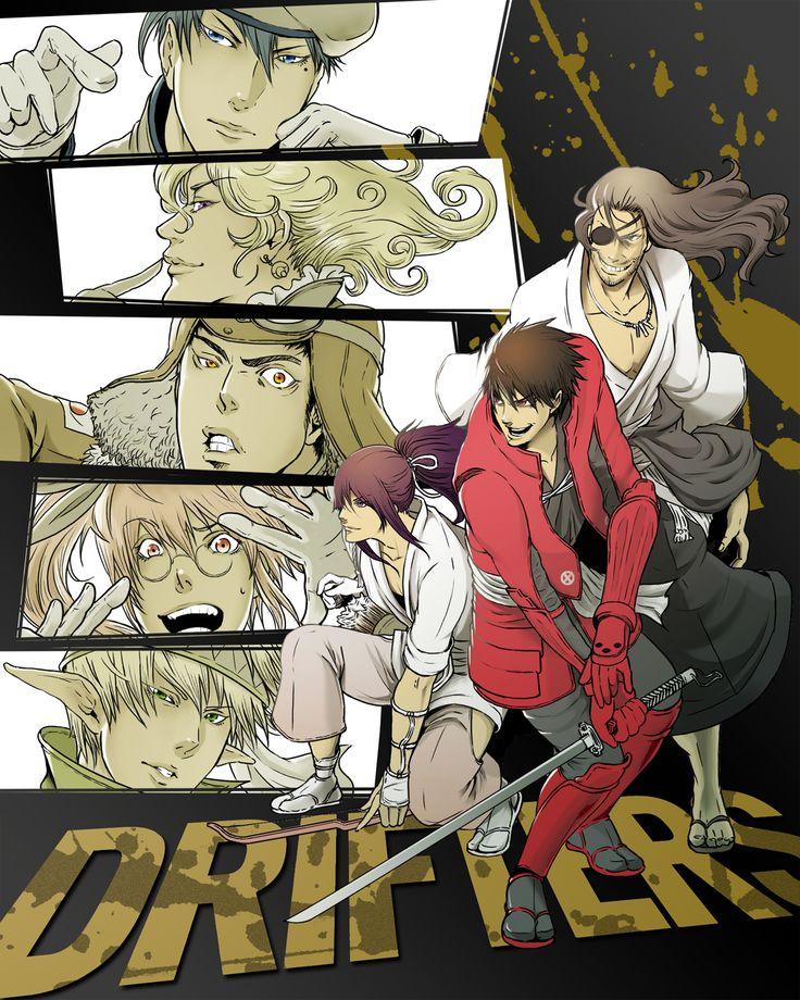 Drifters Manga & Anime Pinterest Fantasy, Samurai