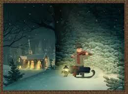 A wonderful Jacquie Lawson Christmas card.