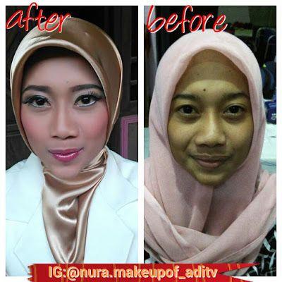 Nura Make Up Of ADITV: make up pengambilan sumpah farmasi UGM