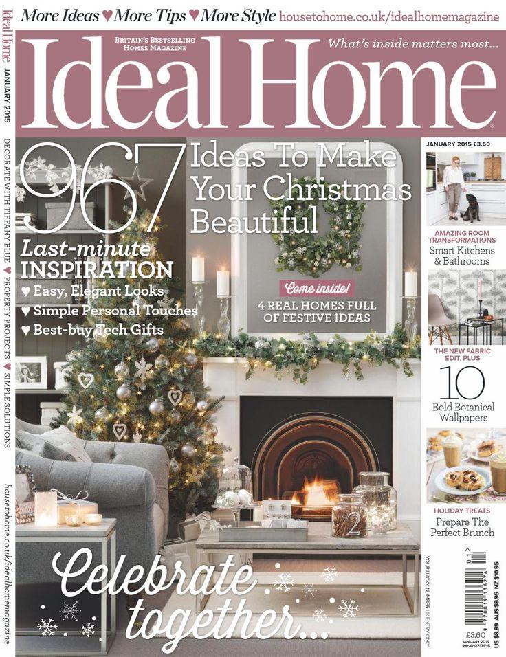 Ideal Home Uk January 2015