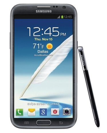 Samsung Galaxy Note II for T-Mobile made (more) official, comes with gamepad-tuned racing this fall Yes.