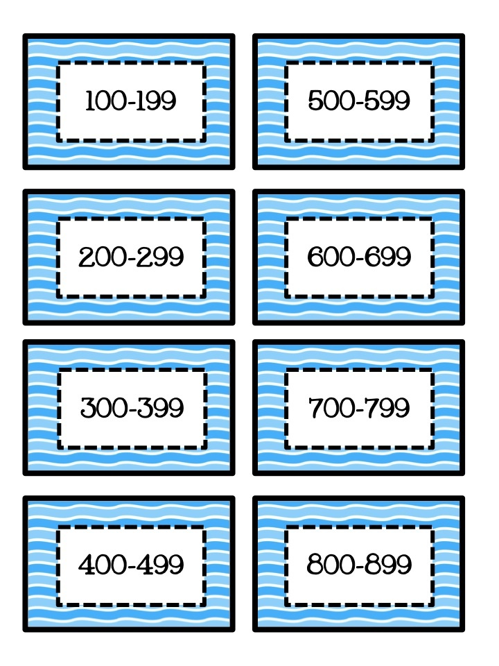Free Library Labels by lexile score - blue waves Organize your classroom library to help students choose a book at their reading level.
