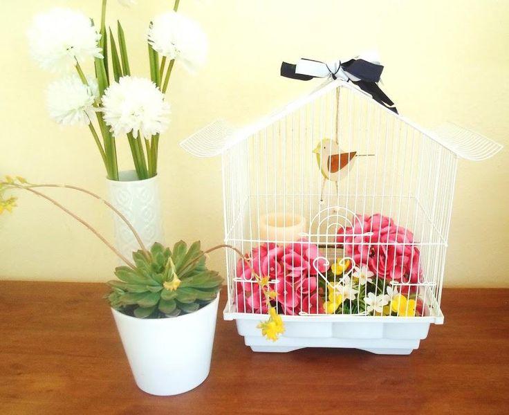 DIY: Restaurar y decorar una jaula