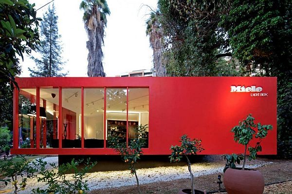 Red Floating House
