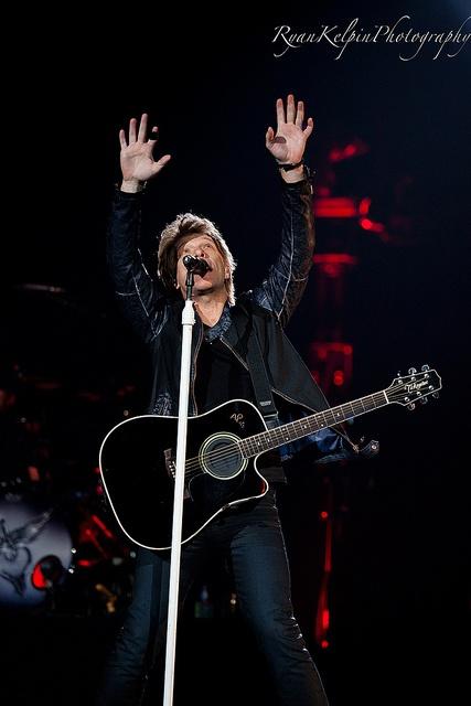 Bon Jovi at the Air Canada Centre in Toronto by Ryan Kelpin, via Flickr  I was there!-Jenn