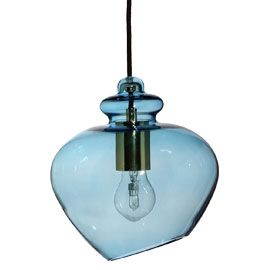 Heal's Grace Dusk Blue Pendant Lamp £140