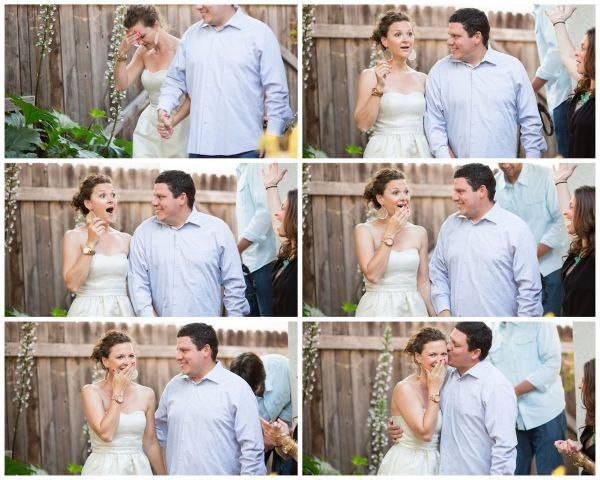 Engagement surprise party