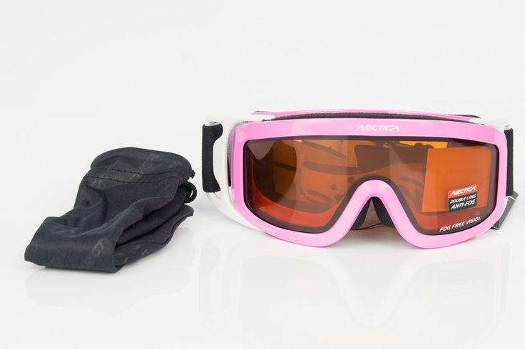 Arctica G-1001 K gyerek síszemüveg    Sisak kompatibilis!    Az Arctica G-1001 K gyerek síszemüveg lencséje polikarbonátból készült. Könnyű, vékony, tartós és ütésálló. A sí- és...