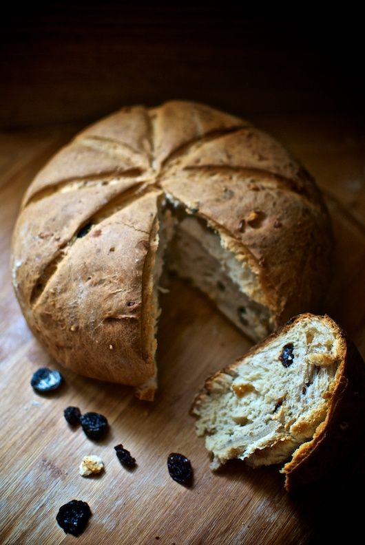 pan dolce de Liguria, receta italiana con Thermomix