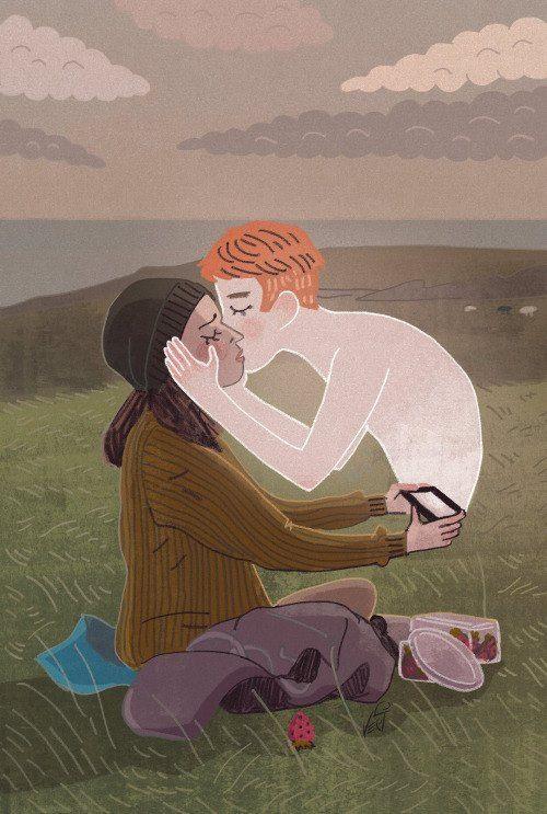 fan art by: https://www.facebook.com/vecicomics black mirror be right back