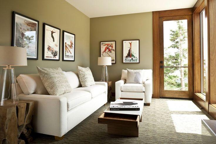 Ga voor lichte kleuren (bv. blauw of groen) op de muren.