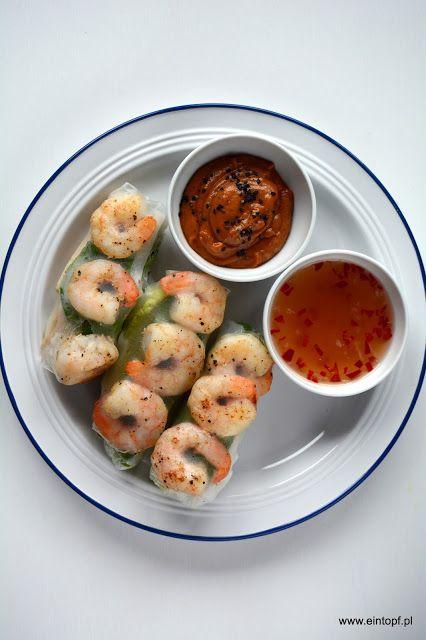 eintopf: spring rollsy z krewetkami, marynowanym tofu i war...
