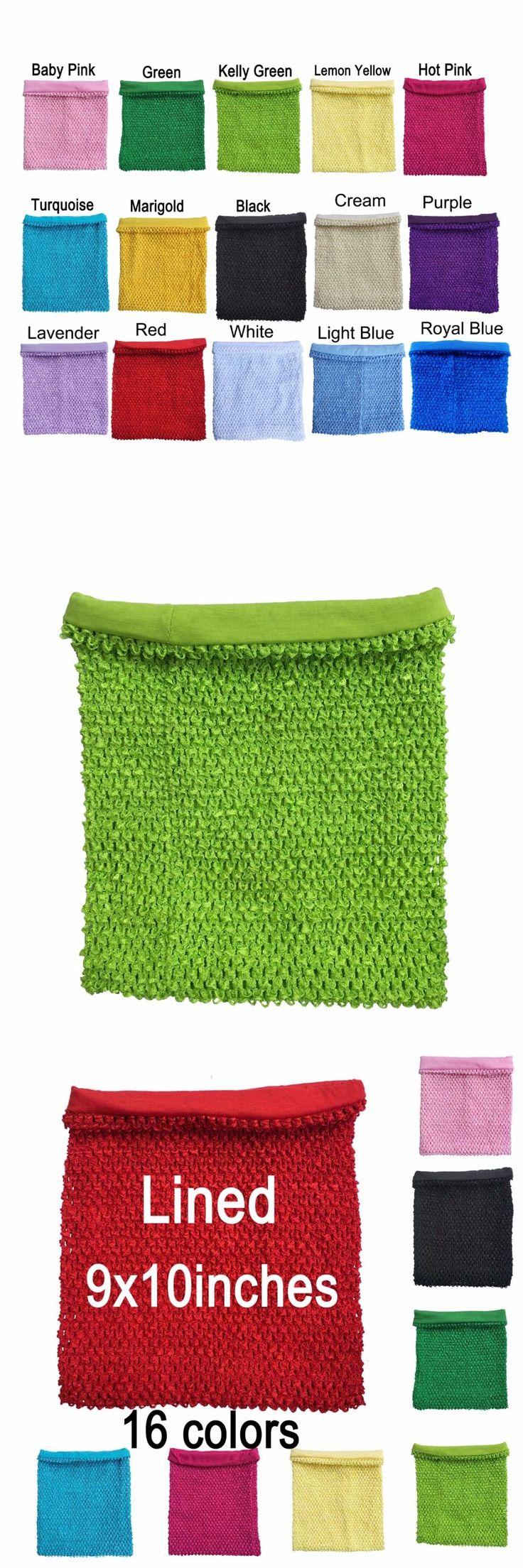 9x10 inches lined crochet tube tutu top for little girls crochet tutu dress tube tops