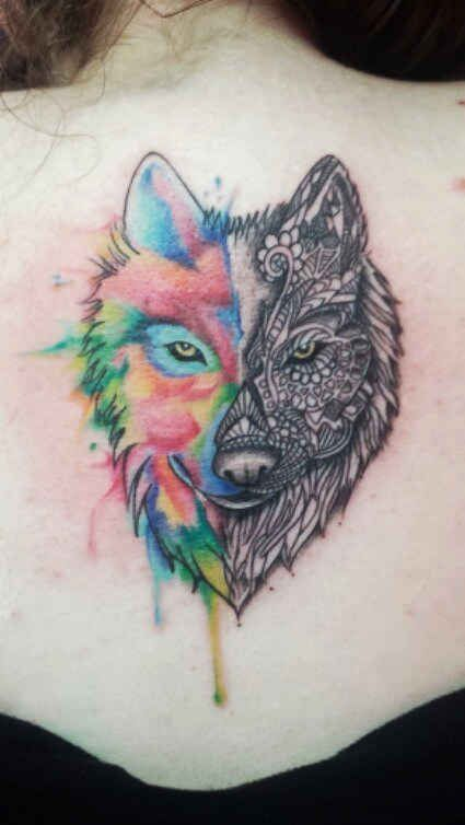 52 Colorful Tattoos That'll Make You Want To Get Inked