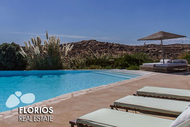 Villa for Sale in Agrari Mykonos island Greece (6 bedrooms – 6 baths) FL1494 http://www.florios.gr/en/Villas-For-Sale-Mykonos-Island-Greece.html