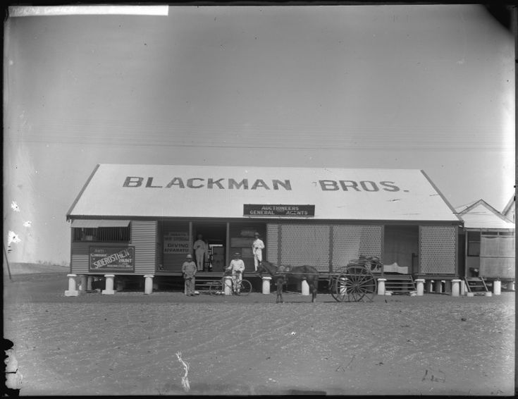 229385PD: The premises of Messrs Blackman Bros, auctioneers and general agents, Broome, 1909 http://encore.slwa.wa.gov.au/iii/encore/record/C__Rb4624343?lang=eng