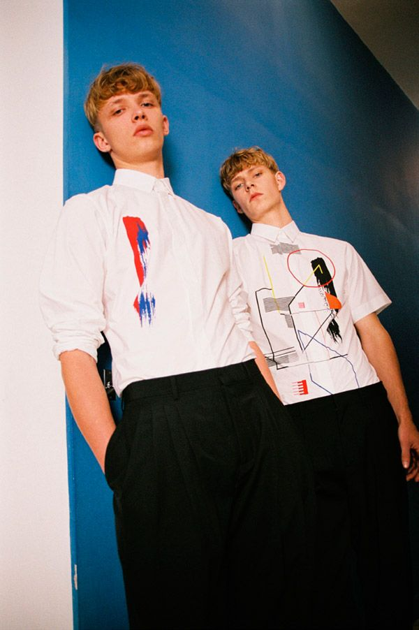 Simon Fitskie and Valters Medenis captured by Bruna Kazinoti and styled by Mauricio Nardi with SS14 pieces from Dior Homme, for the issue #5...