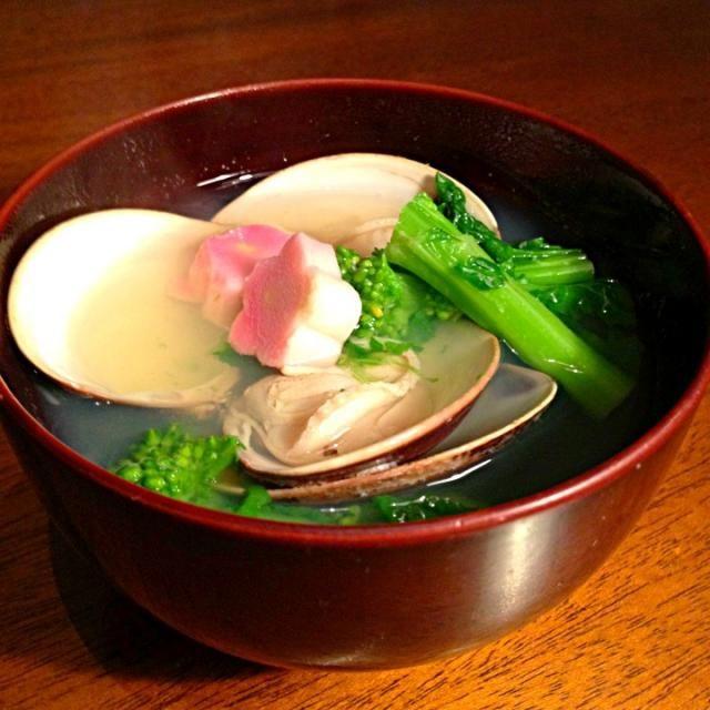 蛤のお出汁がたまらない - 5件のもぐもぐ - 蛤の潮汁 by miiiiiio
