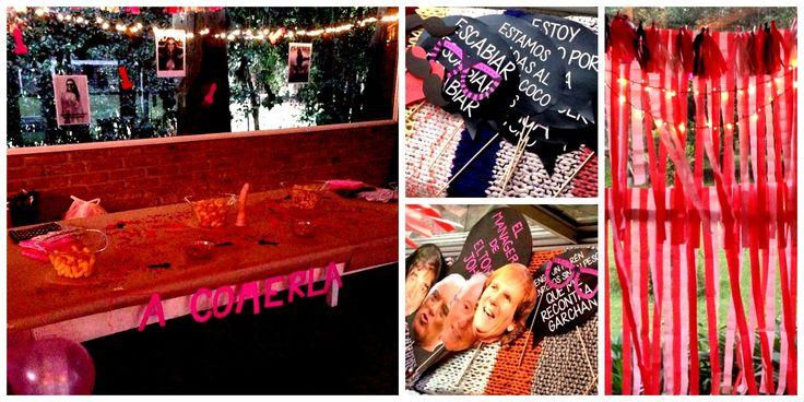 Despedida de Soltera de Romi / Amigas / Festejo / Chau soltería / Ambientación / Candy Bar / Props para fotos / Bachelorette party / Friends / Decor / Photobooth / By LAURA&DONNA / Contact us: lauraydonna@gmail.com